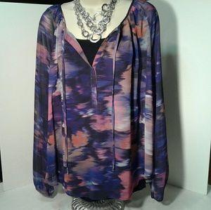 Jennifer lopez long sleeve blouse